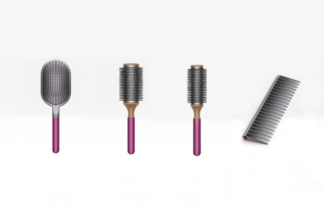 dyson different comb brushes purpose how to choose