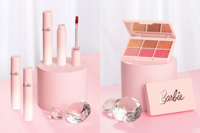 一看見就少女心爆發!這個跟 Barbie 聯乘的美妝品系列,是女生都難以抗拒的!