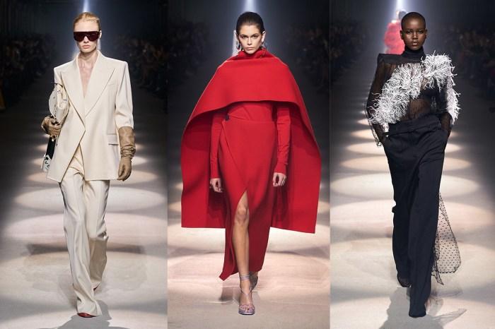 #PFW:拿捏出陽剛與柔和的完美比例,Givenchy 的優雅絲毫不費餘力!