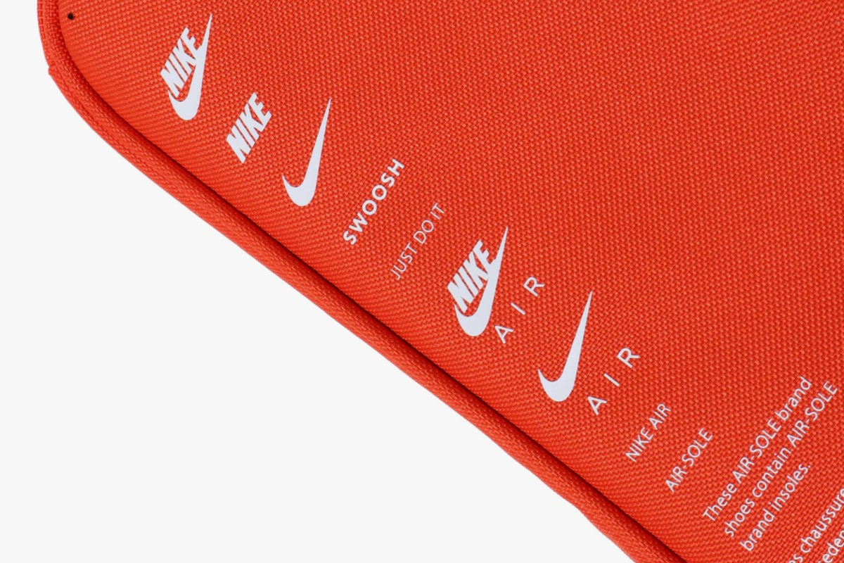 nike shoebox bag orange white release
