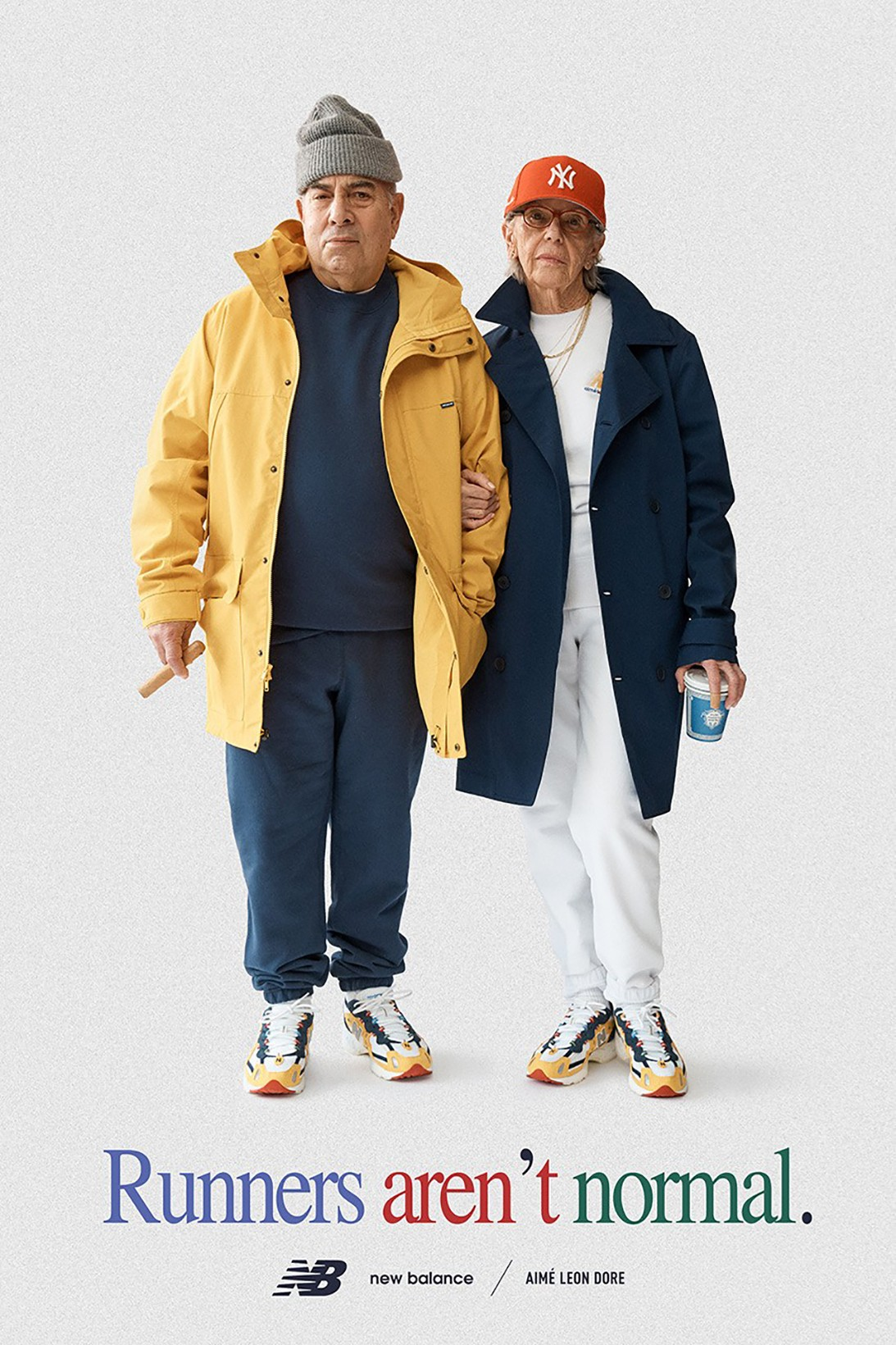 aime Leon dore new balance collaboration spring summer apparel 827 sneakers