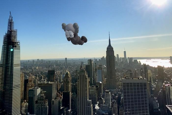 KAWS 大型展覽又來了,全新藝術形式將 Companion 漂浮在香港、台北天空!