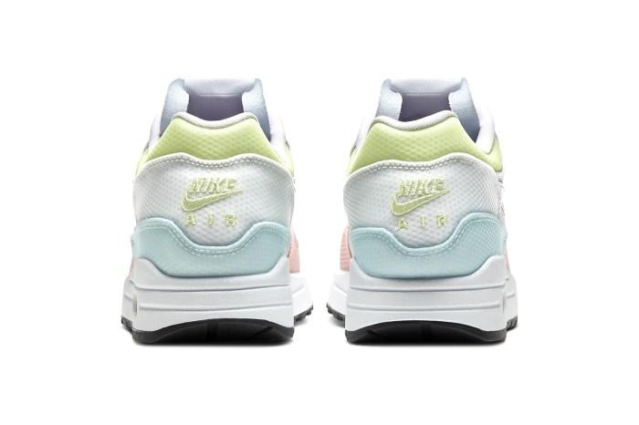 讓女生都忍不住心動的棉花糖拼色:這雙 Air Max 為足上帶來春日粉嫩氣息!