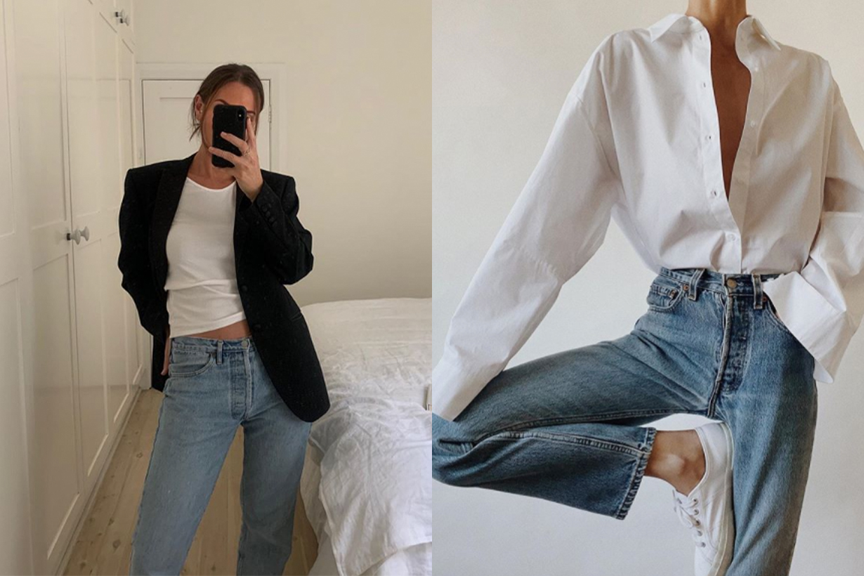The 4 Best Basics to Wear With Jeans and Sneakers
