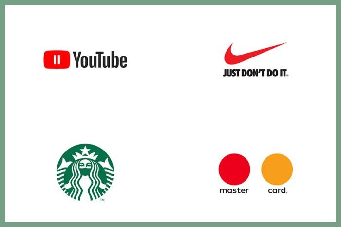 疫情影響下,就連品牌的 Logo 也被重造來提醒大家該注意的事項!