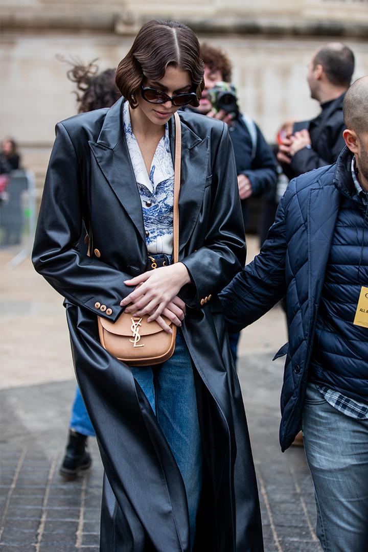 Kaia Gerber's Saint Laurent Bag