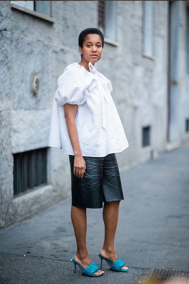 Leather Bermuda Shorts Are The 2020 Trend You Can Actually Wear To Work