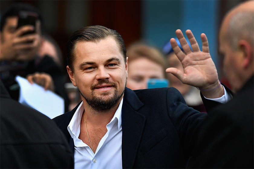 Leonardo DiCaprio Seen Sweetly Giving a Stranger Directions in New York City
