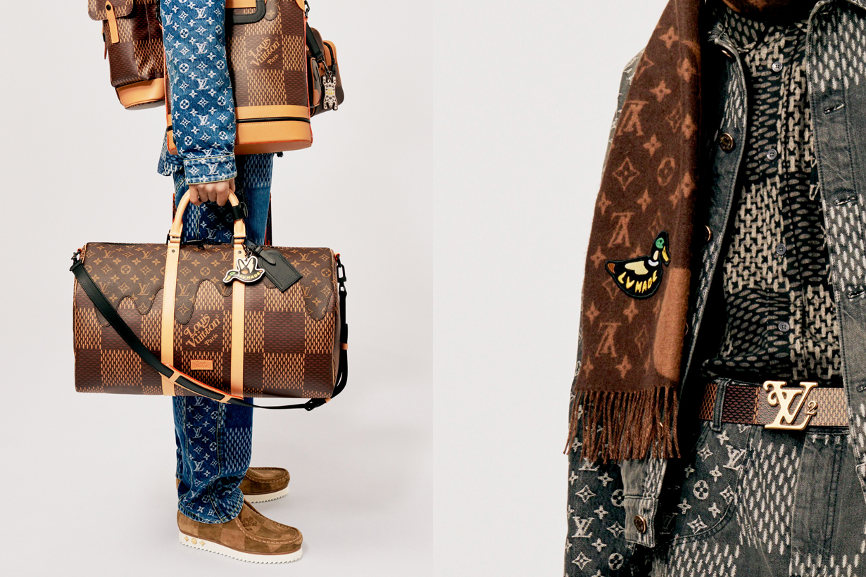 louis vuitton nigo human made 2020 fall handbags acc women