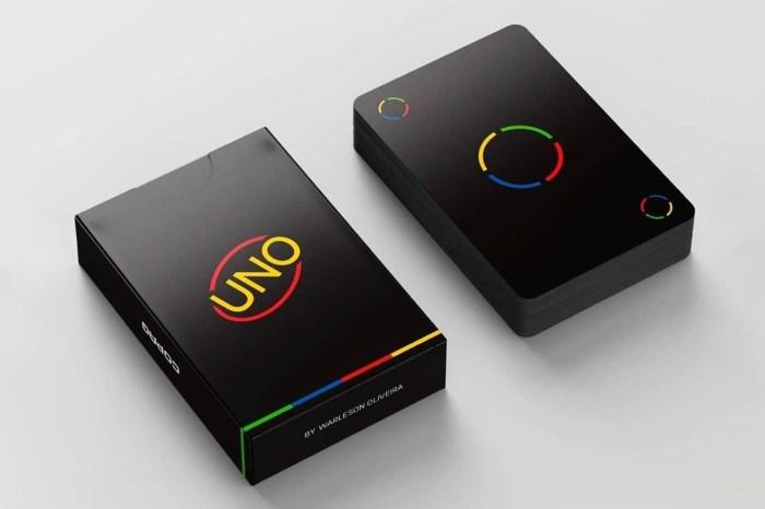 最美的「+4」牌:經典聚會遊戲 UNO 推出極簡風格的暗黑版本卡牌!