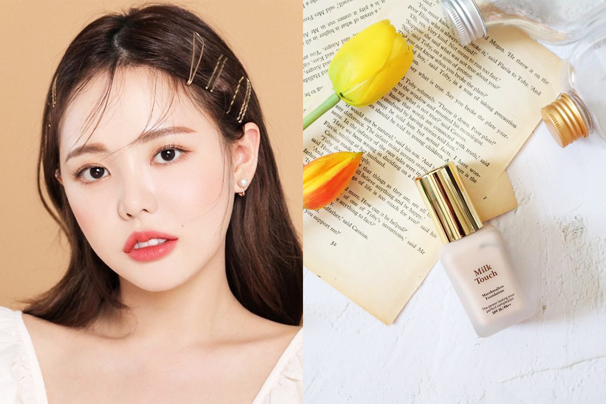 Milk Touch Marshmallow Foundation Estee Lauder Double Wear Foundation CP value Korean Girls Korean Cosmetics Makeup Foundation