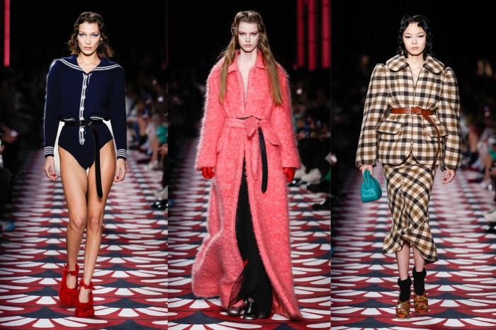 #PFW:打開 Miu Miu 異想天開的衣櫥,每個女生都能盡情做一場奢華的復古夢!