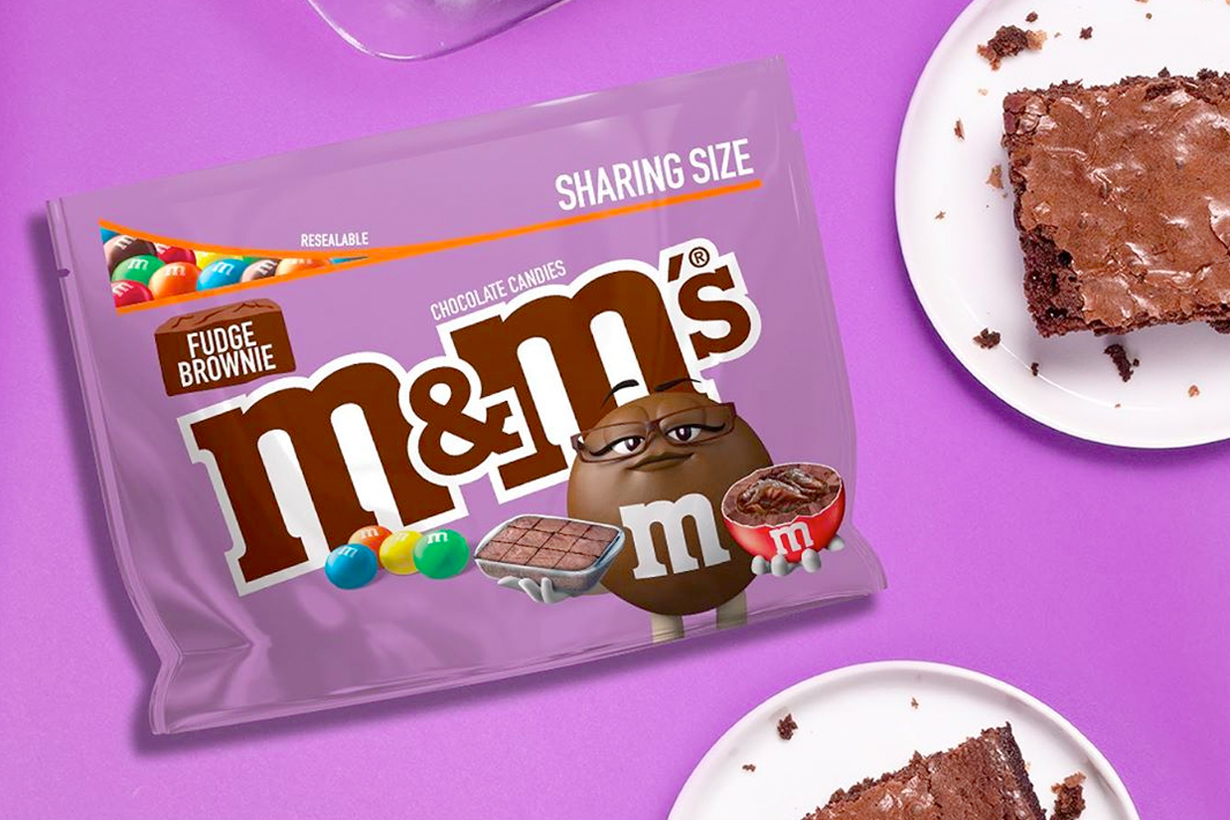 M&M'S fudge brownies new flavor limited chocolate lover must try