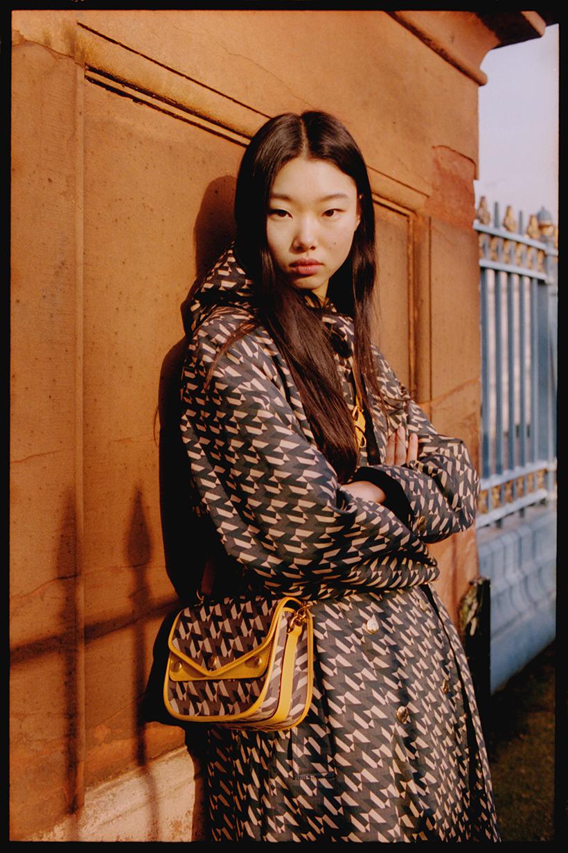 Korean Model MULAN BAE in MULBERRY