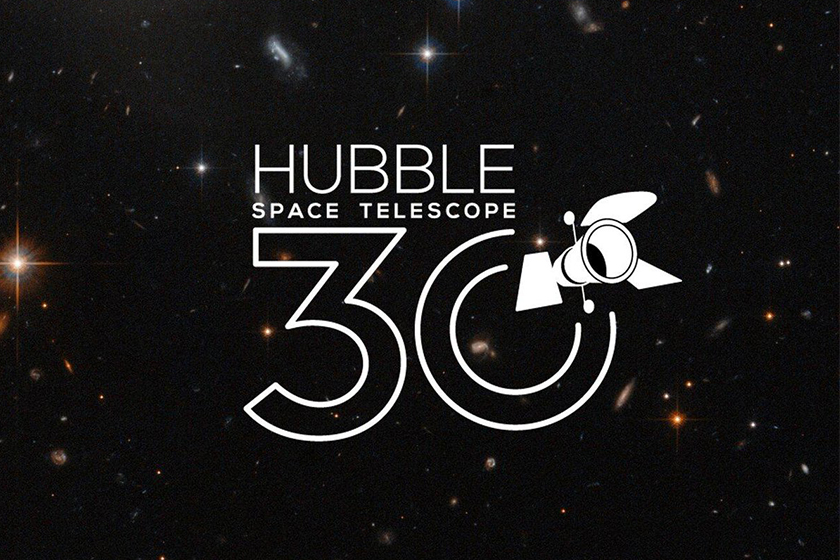 NASA the Hubble Space Telescope birthday image