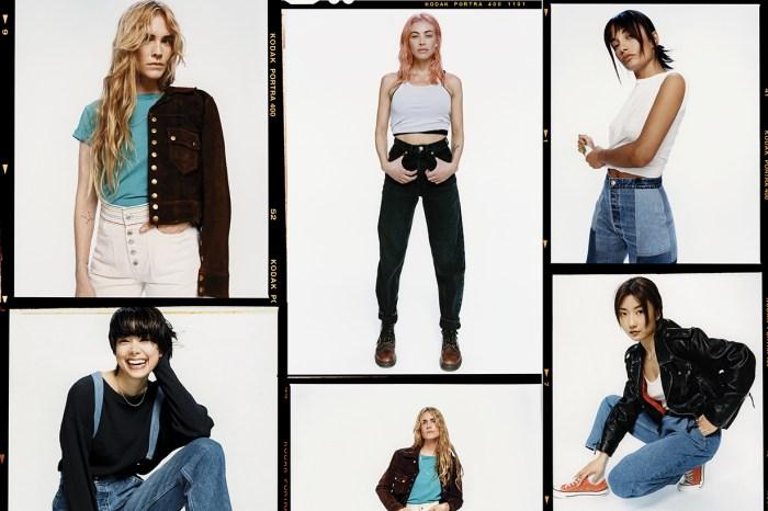 當時尚達人遇上 RE/DONE!今季街拍的人氣牛仔單品來了