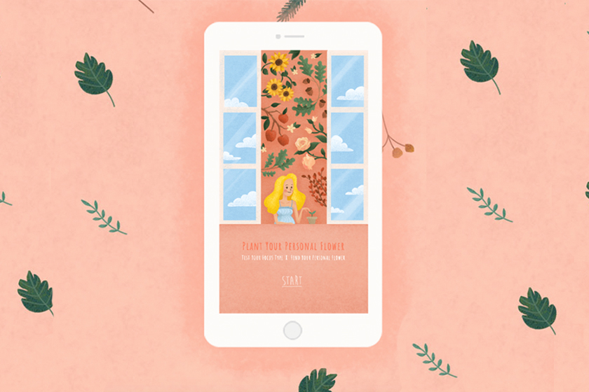 personality test plant your personal flower forest app