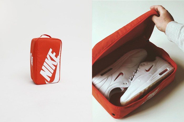 Nike 這款橘色包款引起熱議,設計靈感來自辨識度最高的波鞋紙盒!