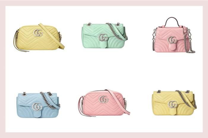 恣意浪漫的仙氣:Gucci 經典熱賣手袋系列,穿上夢幻絕美的柔嫩色調!