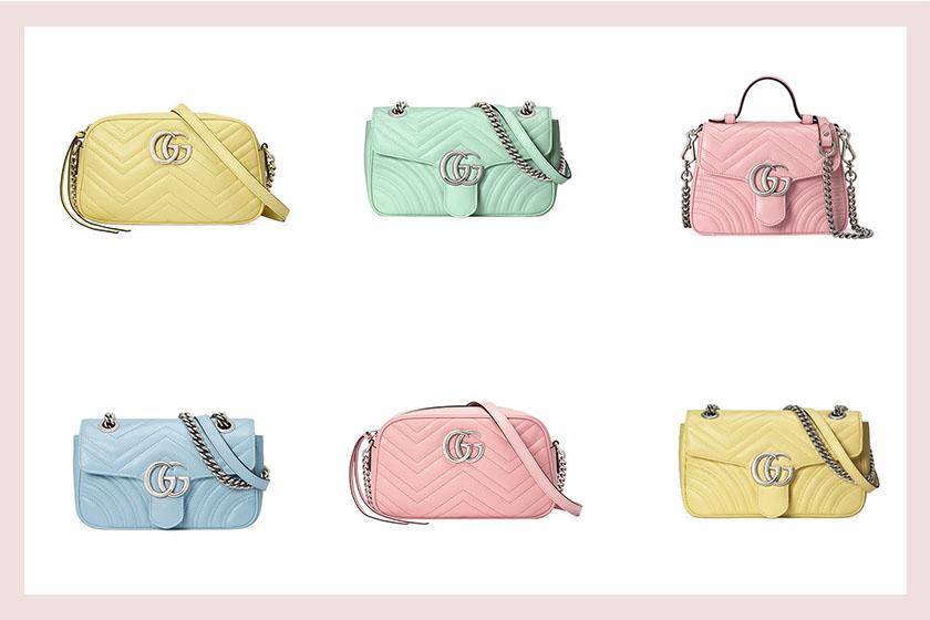 Gucci GG MARMONT handbags 2020