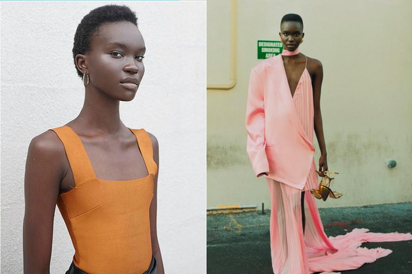 2020 fw fashion week Achenrin Madit model