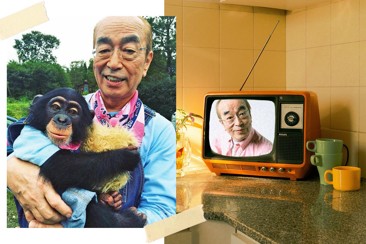 Shimura Ken Japanese Comedian Covid-19 Coronavirus Wuhan pneumonia Hachiji Dayo! Zen'inshugo! Kato-chan Ken-chan Gokigen Terebi Ken Shimura at Baka Tonosama Shimura Ken no Daijoubuda