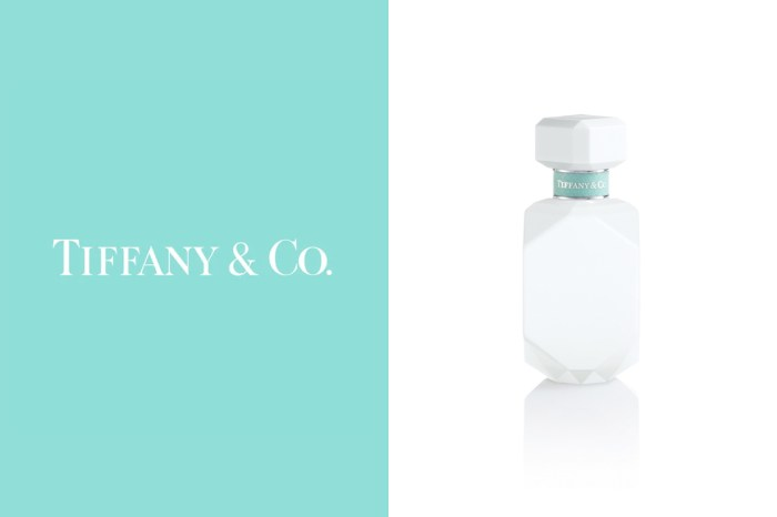 鑽石切割白色瓶身:Tiffany&Co. 推出最新淡香精,少了藍綠色仍然耀眼!