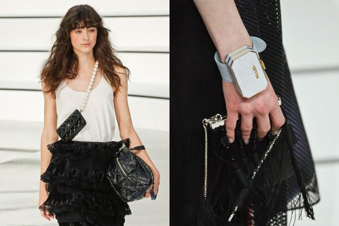 手袋裝飾化的時代來臨:天橋充斥著袖珍小袋,不講實用只求潮流!