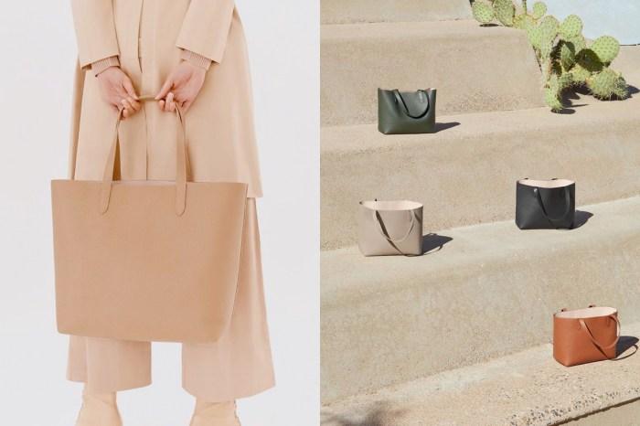 越簡單往往越難尋:堅持使用上乘的皮革+簡約的設計,也難怪這只皮革托特包會如此受歡迎!