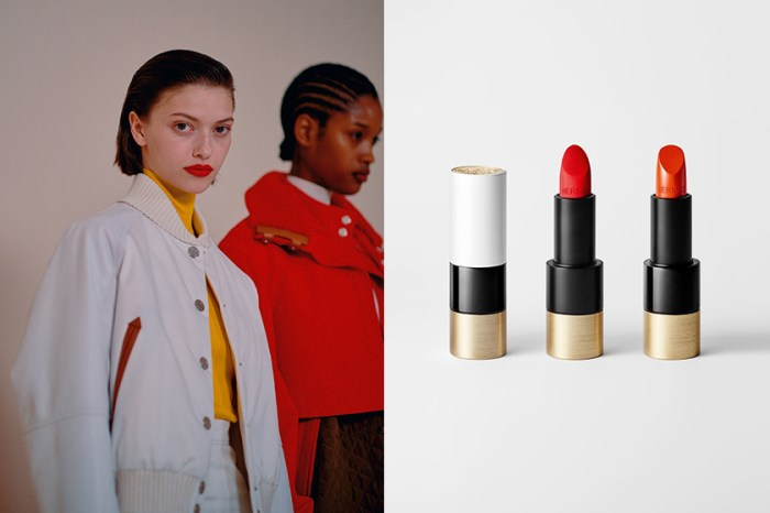 #PFW:倒數一天開賣,Rouge Hermès 唇膏實擦效果率先在秀上曝光!