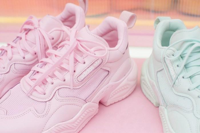 最適合春夏的夢幻鞋款:adidas Originals 為 Supercourt RX 推出甜美冰淇淋色!