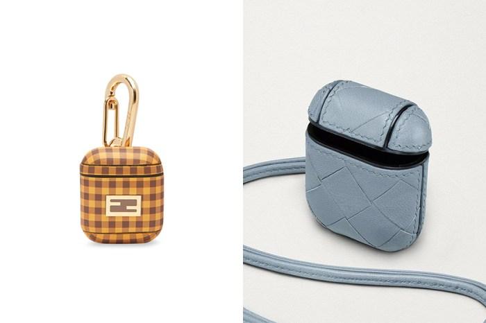 隨身小物也要換上春裝,Bottega Veneta 與 Fendi 推出淡雅色系 AirPods Case!