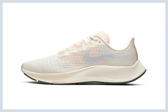 Nike 為 Air Zoom Pegasus 37 帶來多款春日粉嫩配色,讓你時髦又舒適的運動!