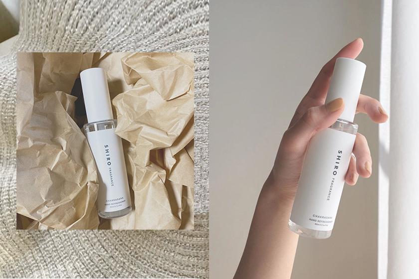 japanese beauty brand shiro hand mist Chakrasana Hand Refreshener