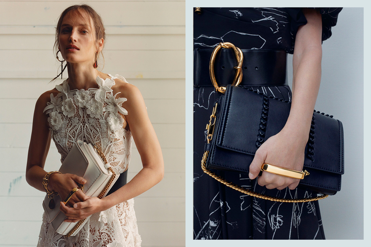 Alexander McQueen newly launched handbags The Story Shoulder Bag from Spring Summer 2020 collection