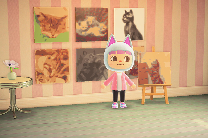 animal crossing art generator getty museum