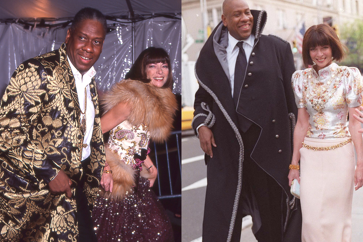anna wintour André Leon Talley end friendship reason why