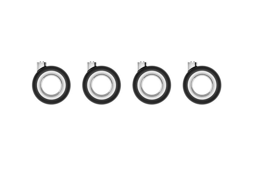 apple mac pro stainless steel feet wheels base