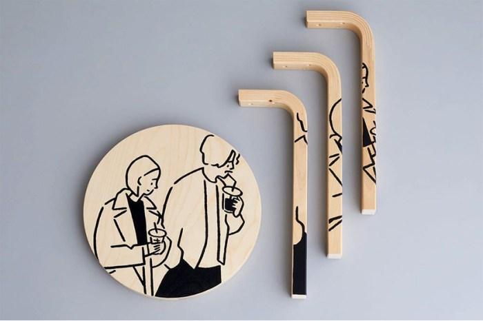 北歐傢具 x 日本插畫:artek 跟長場雄合作推出特別版圓椅子!