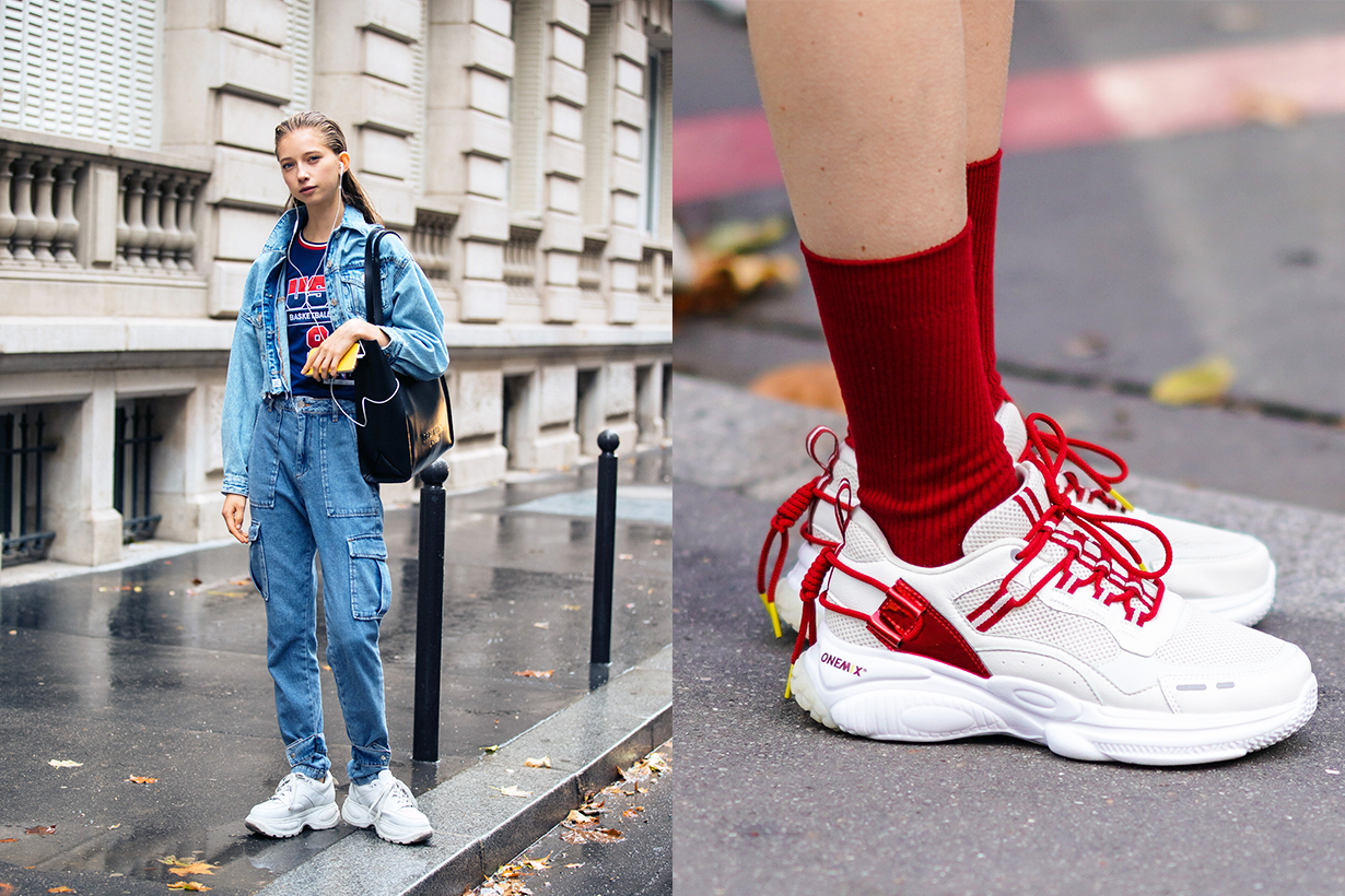 POPBEE editor's pick white sneakers Dad Shoes Sports Shoes  Dad Sneakers 2020 spring summer Maison Margiela Balenciaga ALEXANDER MCQUEEN