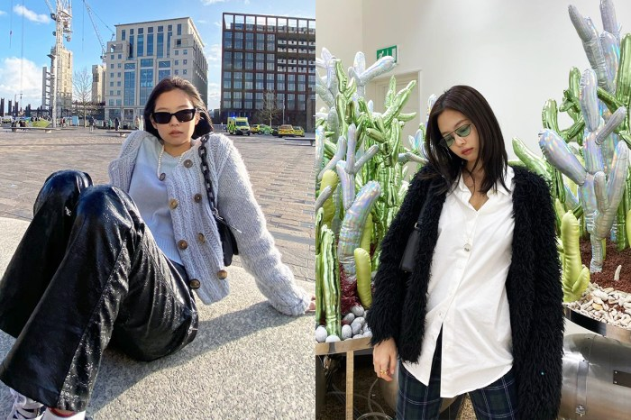 「人間香奈兒」也有設計魂,BLACKPINK Jennie 為 Gentle Monster 設計的銀鏡也太時尚了!