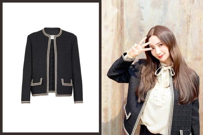 不只有西裝外套,朴敏英身上的 Hunter Jacket 也是 Celine 粉不容錯過的單品!