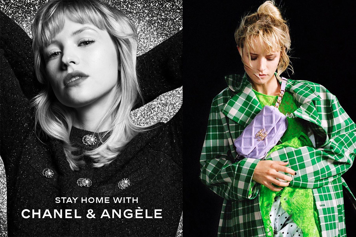Chanel Angèle Livestream Music Concert