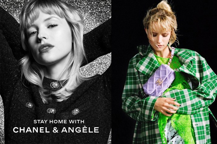 Chanel 為你準備家中最佳節目,邀請了法國爆紅歌手 Angèle 搞網上音樂會!
