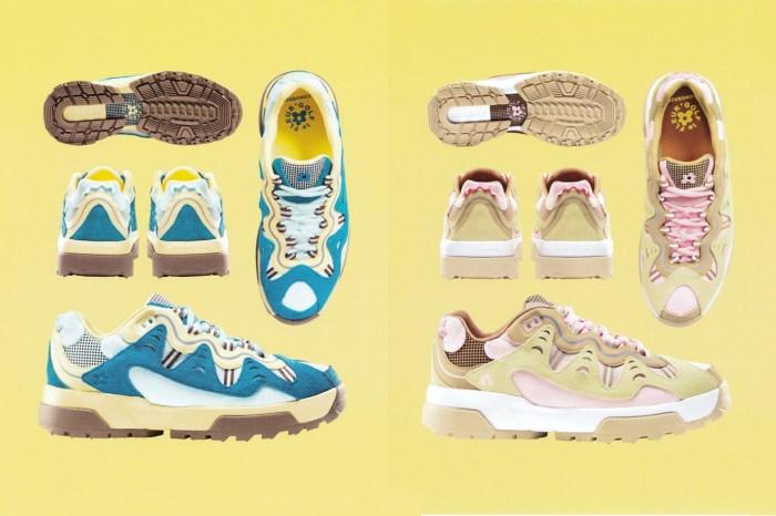 GOLF LE FLEUR* 小花波鞋再度回歸,這次 Converse 準備了復古又粉嫩的配色!