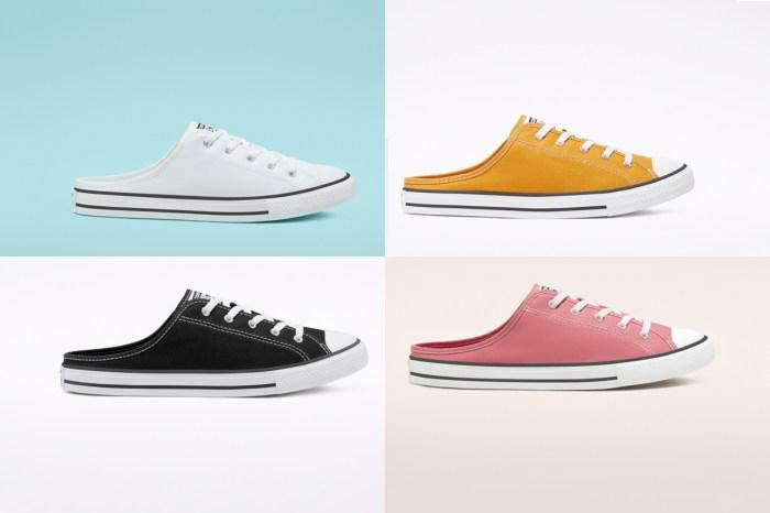 不一樣的 All Star 帆布鞋,Converse 的這雙懶人波鞋絕對是夏日必備!