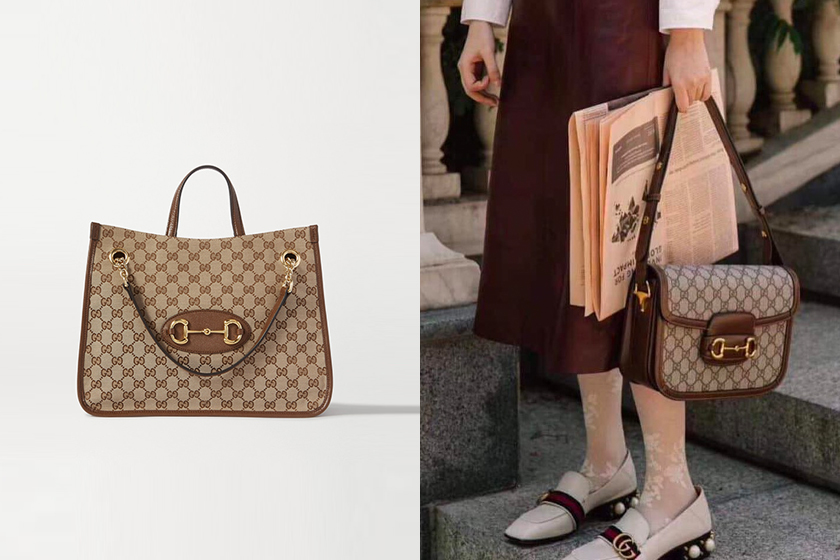 Gucci 1955 Horsebit Medium Tote handbags