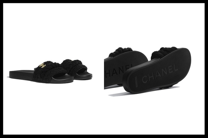 絕美細節:Chanel 這一雙黑珍珠拖鞋,要價 8,000 港幣捨得穿出門嗎?