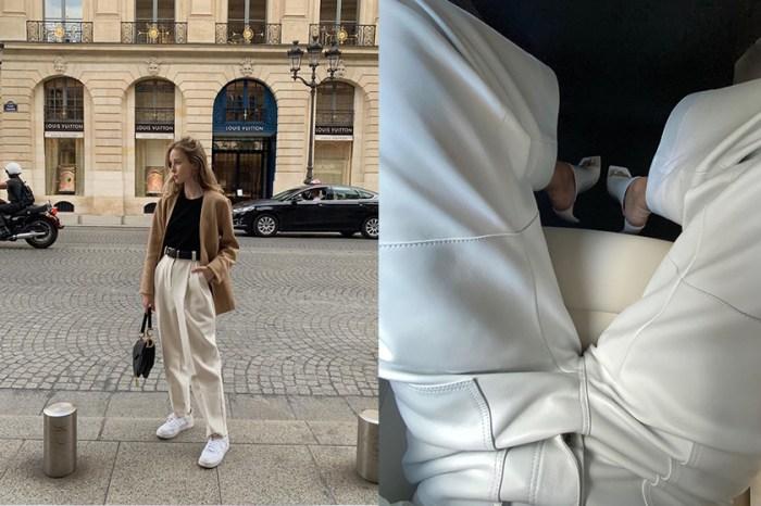 難以抗拒的極簡夢幻白,時髦、優雅設計白鞋你還少哪一雙?