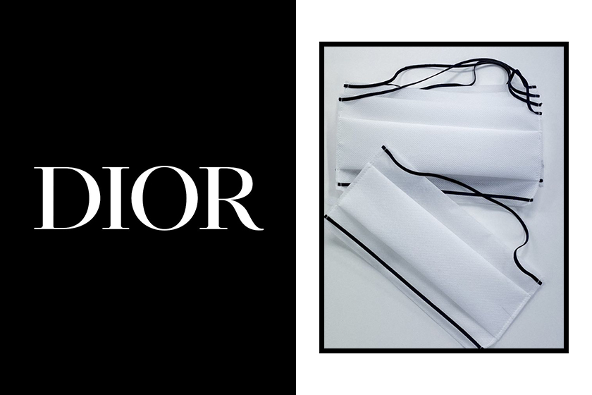 Dior Mask production COVID-19